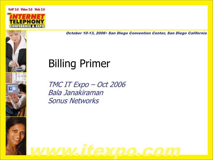 Billing Primer