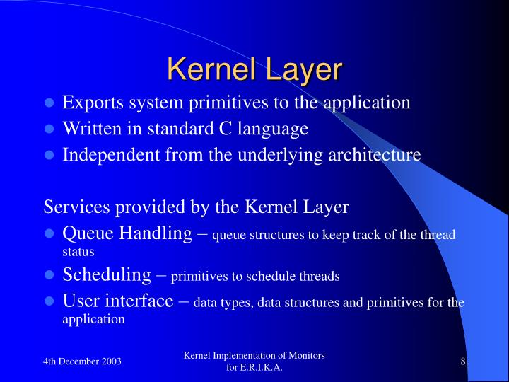 Kernel Layer