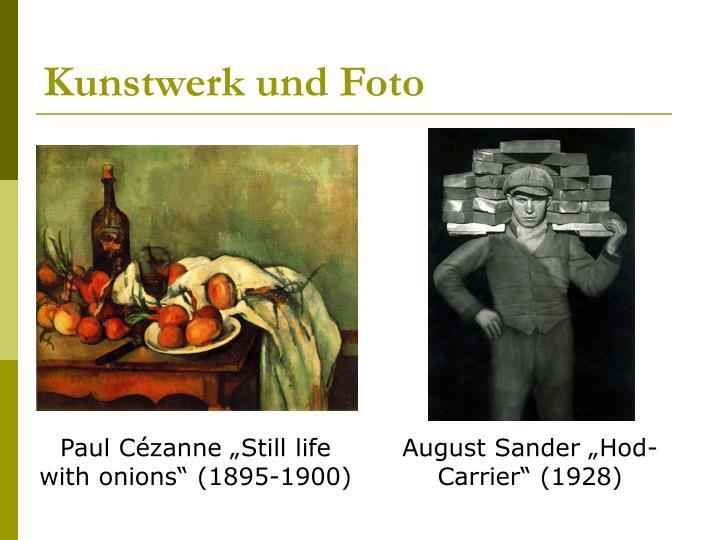 Kunstwerk und Foto