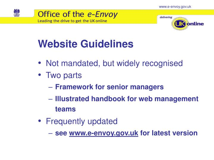 Website Guidelines