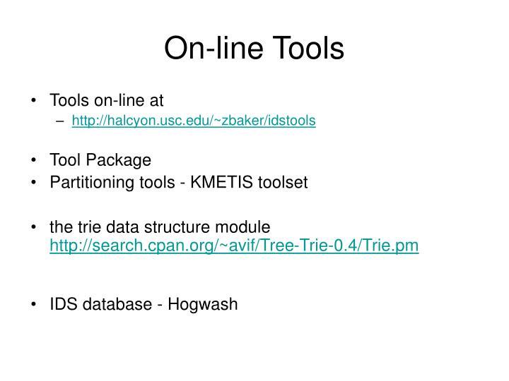On-line Tools