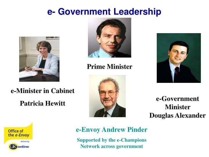 E government leadership