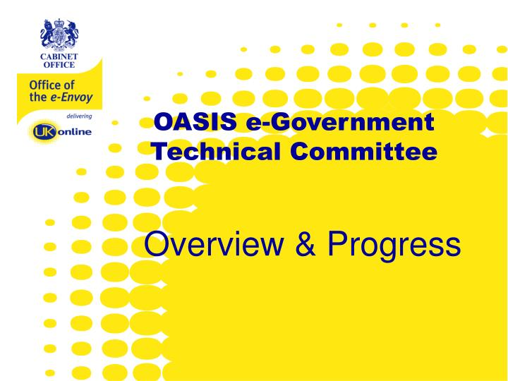 OASIS e-Government