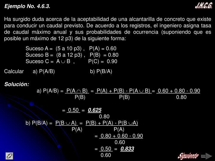 Ejemplo No. 4.6.3.