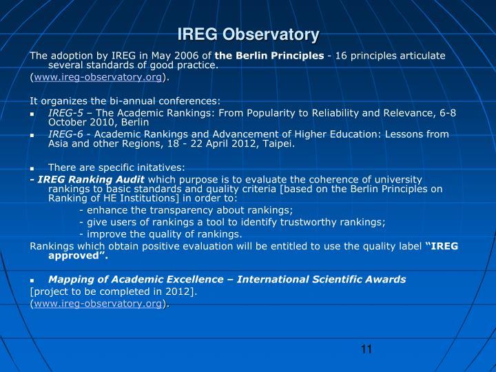 IREG Observatory
