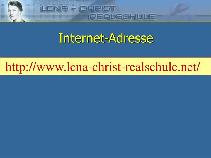 Internet-Adresse