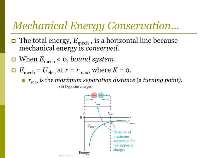 Mechanical Energy Conservation…
