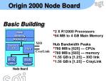 origin 2000 node board