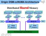 origin dsm ccnuma architecture
