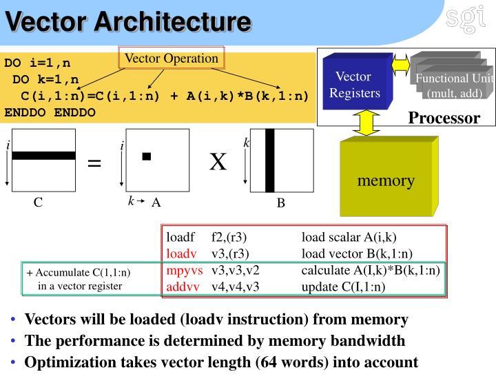 Vector Architecture
