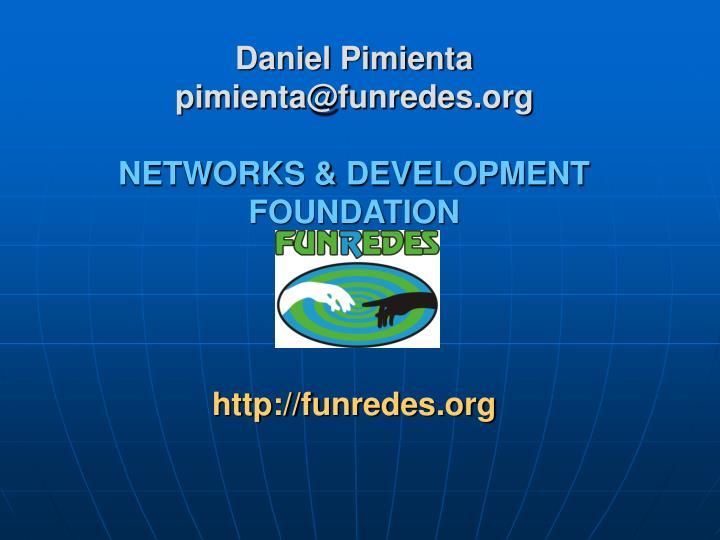 Daniel Pimienta