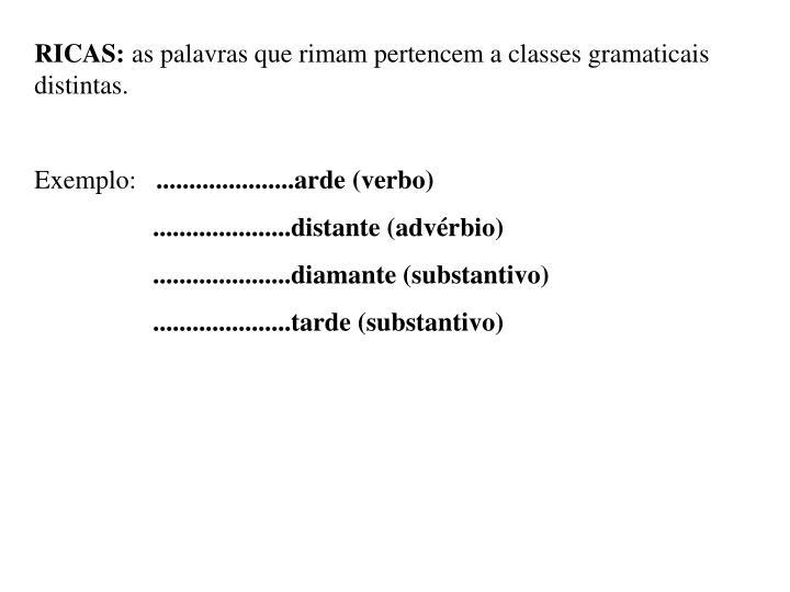 RICAS: