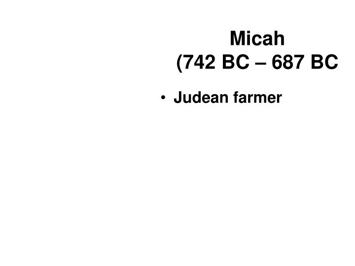 Micah