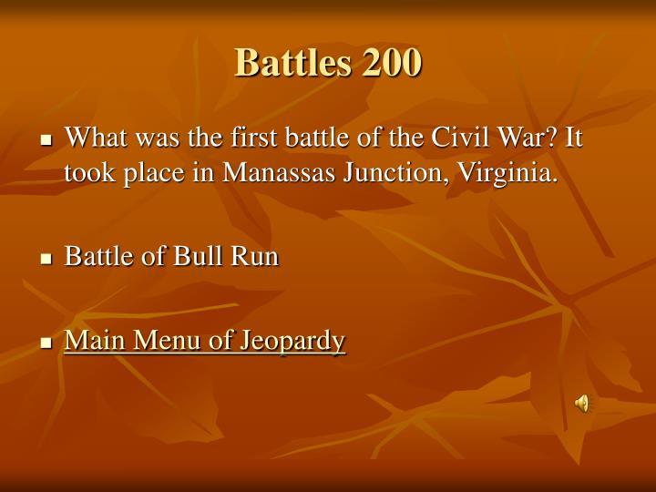 Battles 200