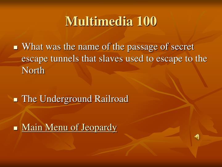 Multimedia 100
