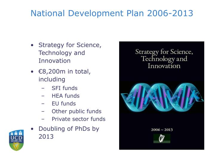 National Development Plan 2006-2013