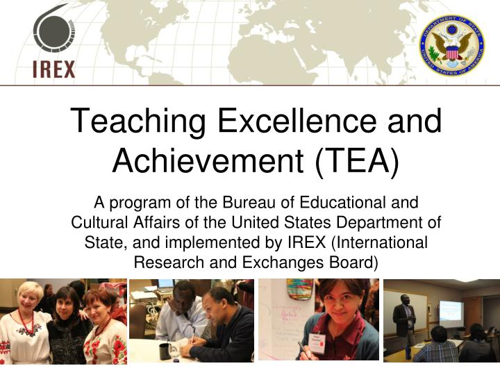 Teaching Excellence and Achievement (TEA)