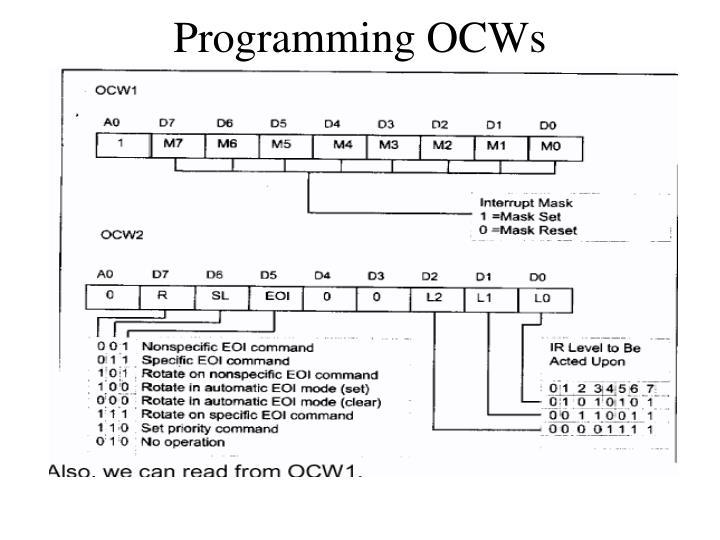 Programming OCWs