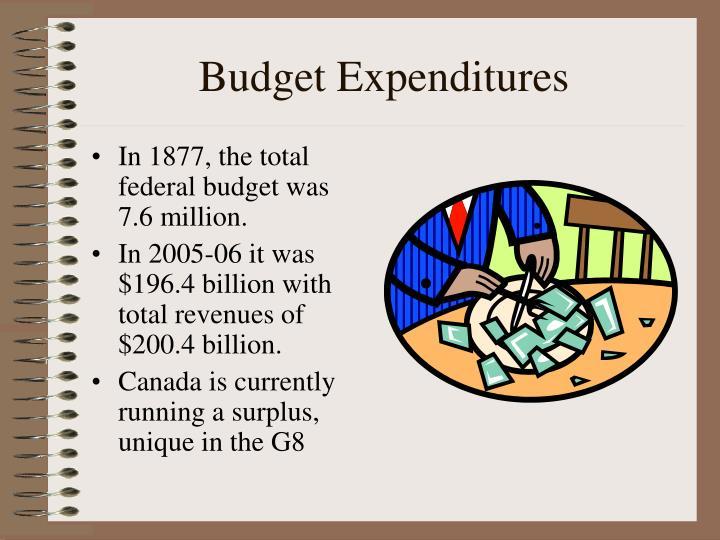 Budget Expenditures