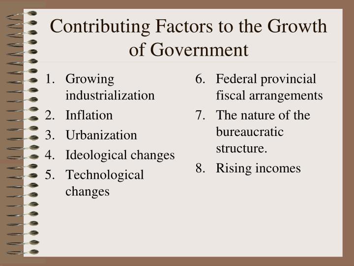 Growing industrialization