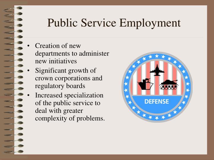 Public Service Employment