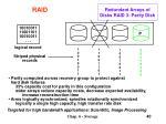 redundant arrays of disks raid 3 parity disk