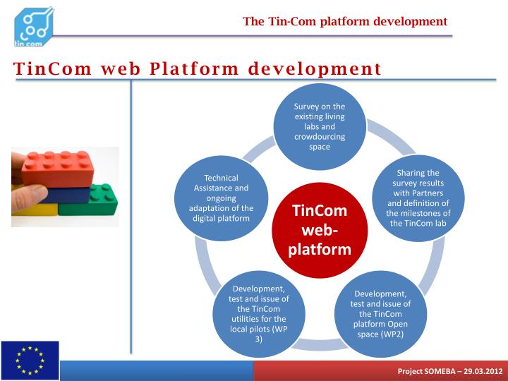 The Tin-Com platform development