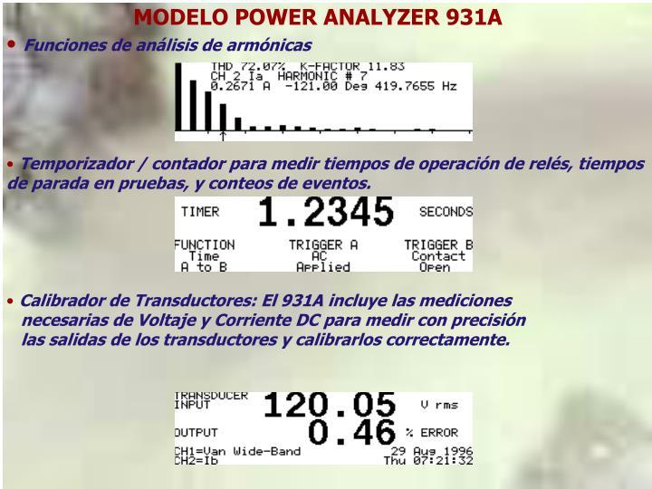 MODELO POWER