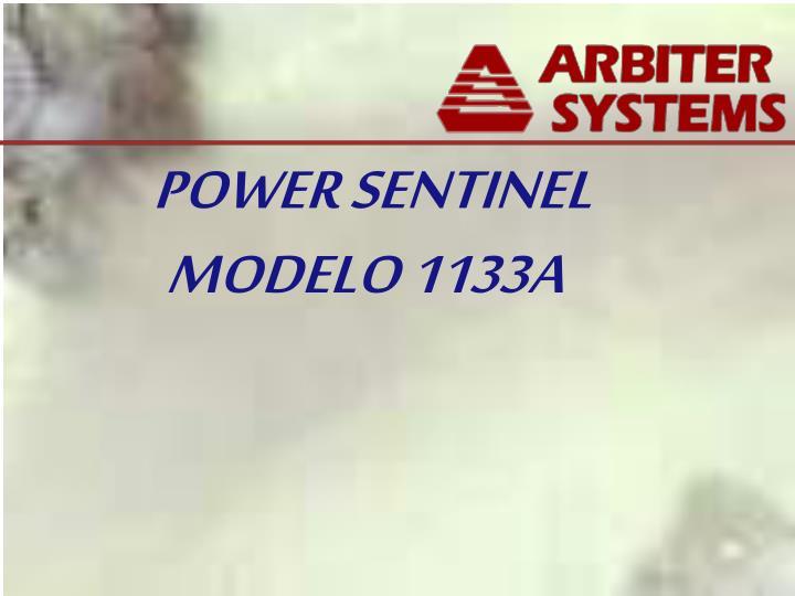 POWER SENTINEL