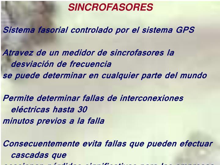 SINCROFASORES