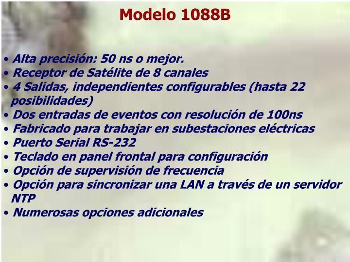 Modelo 1088B