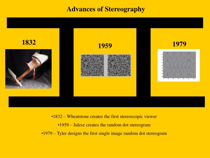 Advances of Stereography