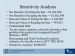 sensitivity analysis4