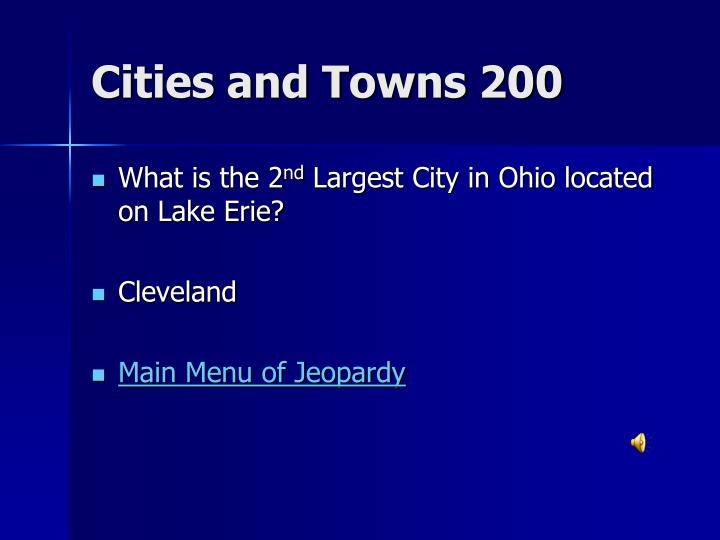 Cities and Towns 200