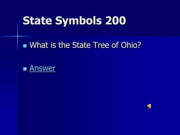 State Symbols 200