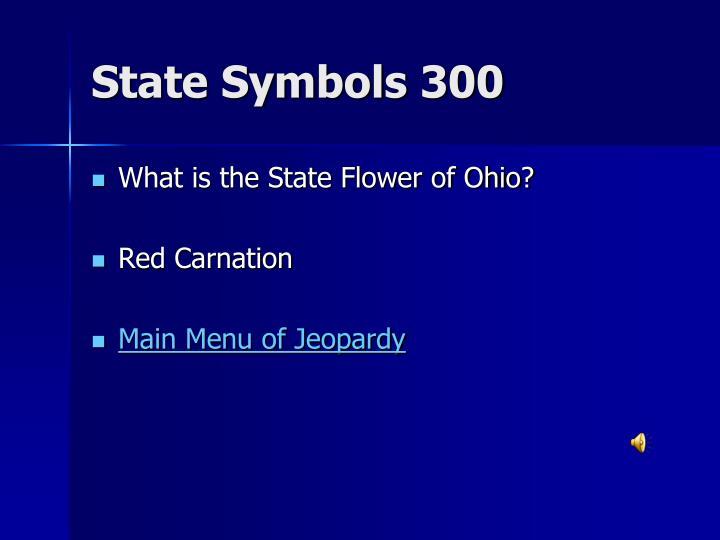 State Symbols 300