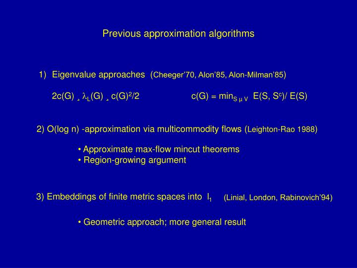 3) Embeddings of finite metric spaces into  l
