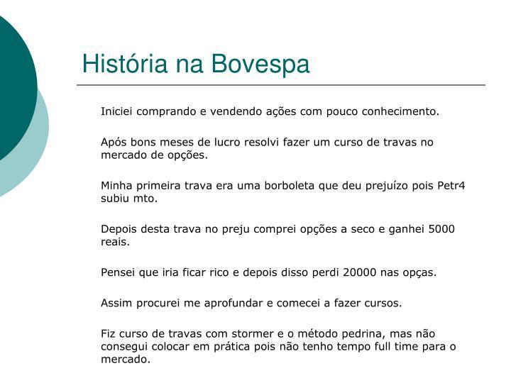 História na Bovespa