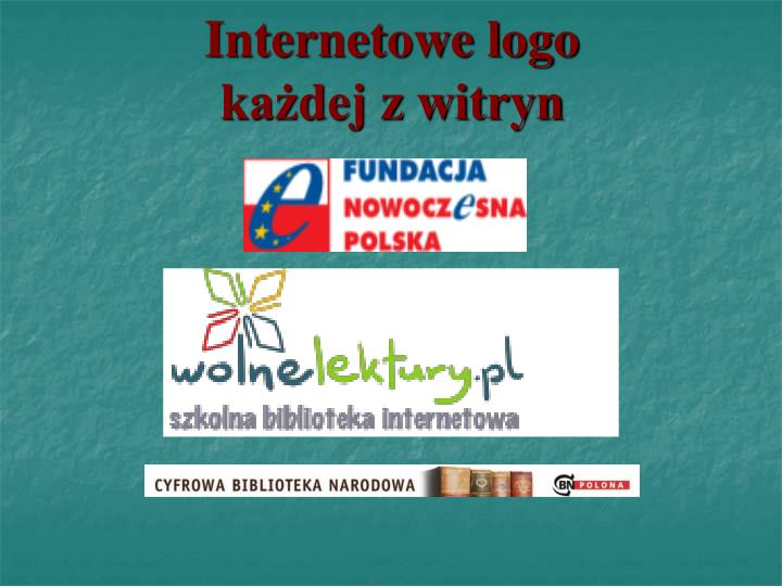 Internetowe logo