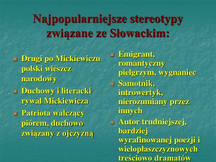 Drugi po Mickiewiczu polski wieszcz narodowy