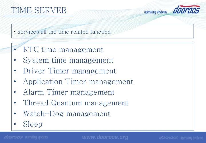 TIME SERVER