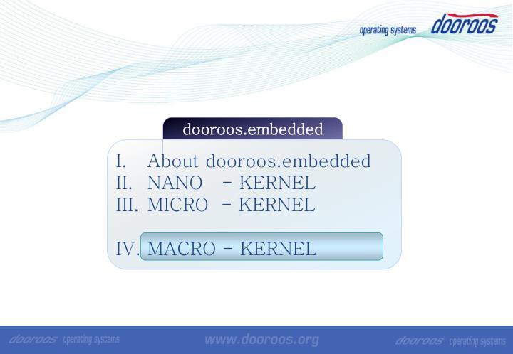dooroos.embedded
