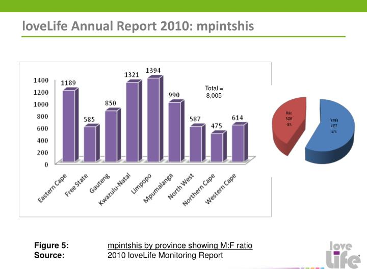 loveLife Annual Report 2010: mpintshis