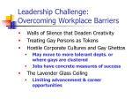 leadership challenge overcoming workplace barriers1