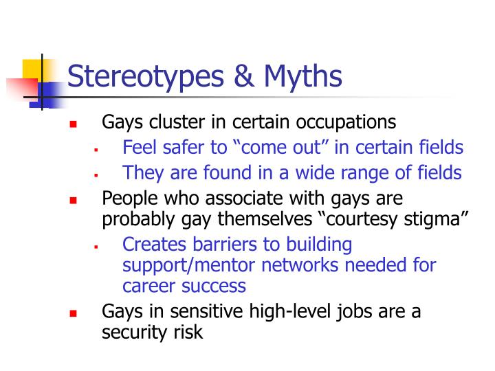 Stereotypes myths