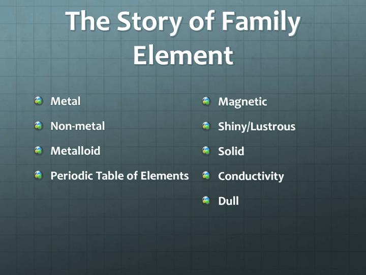 The Story of Family Element