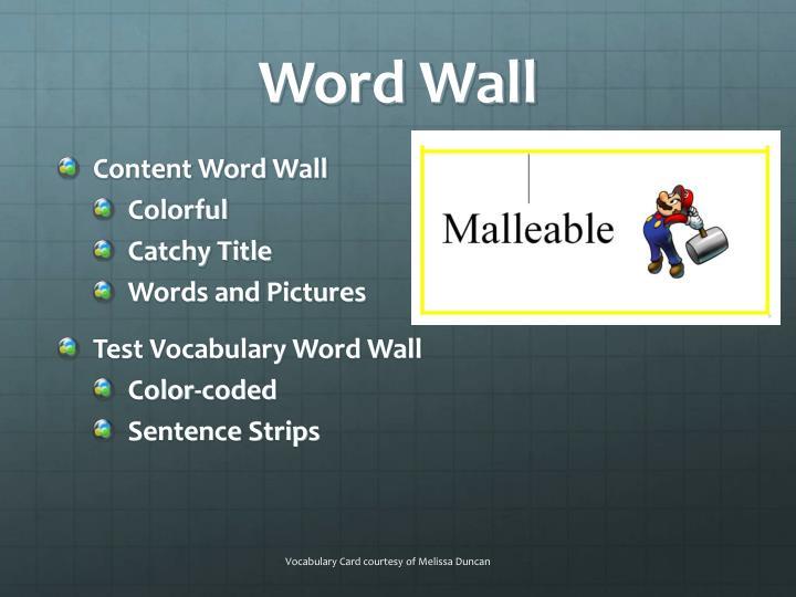 Word Wall