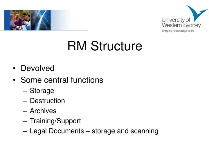 RM Structure