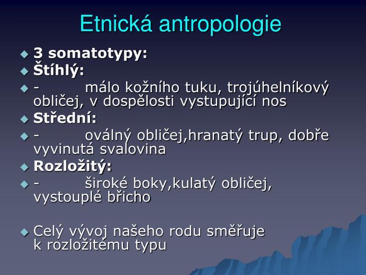 Etnická antropologie