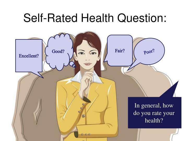 Self-Rated Health Question: